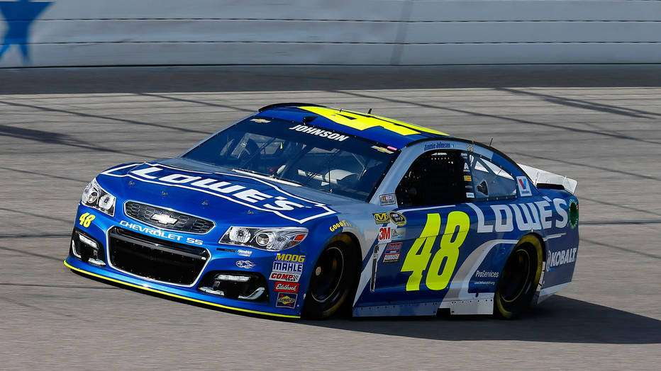 Jimmie Johnson Chevy >> Jimmie Johnson on track for NASCAR history ...