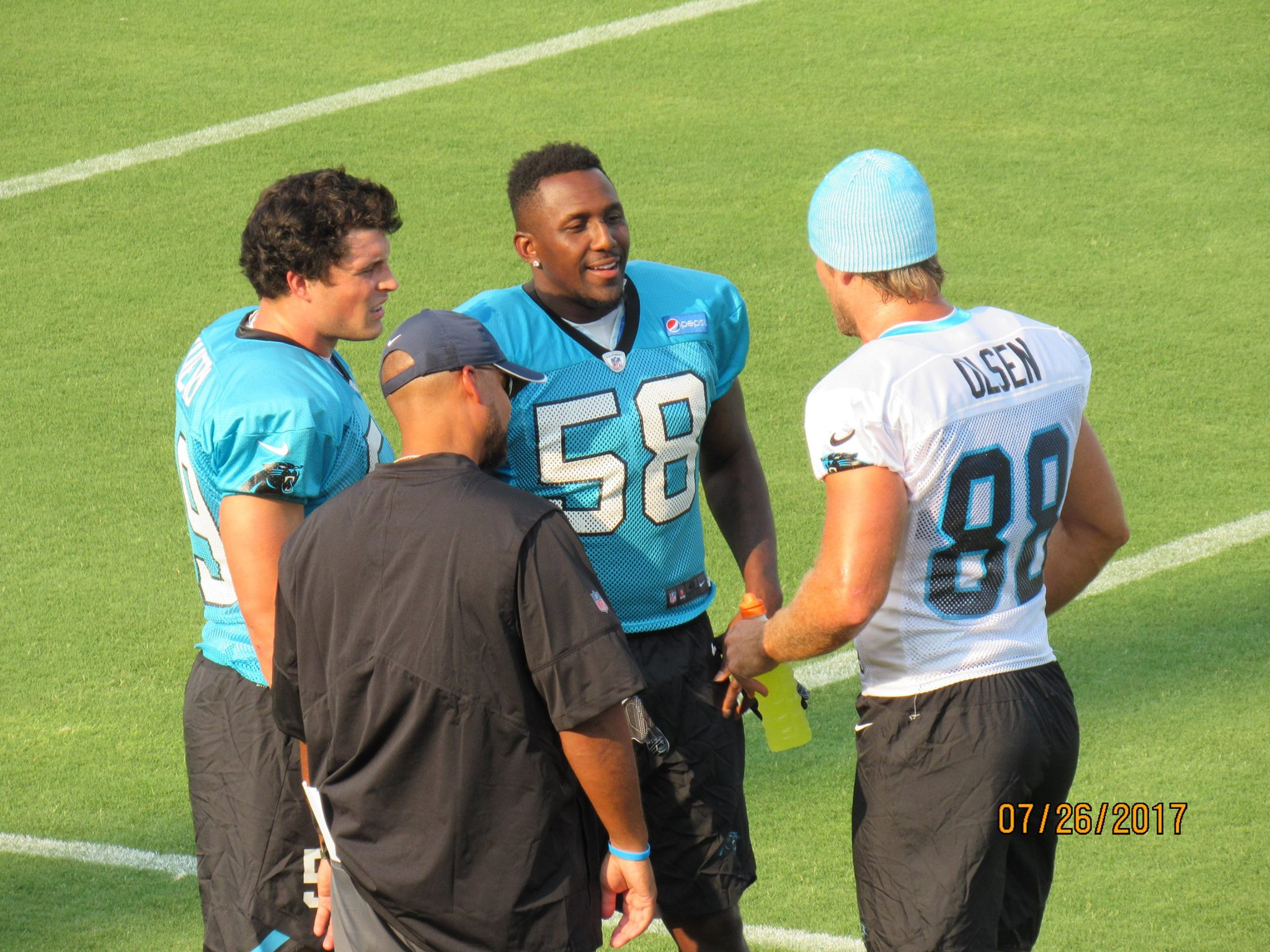 Panthers practice 1