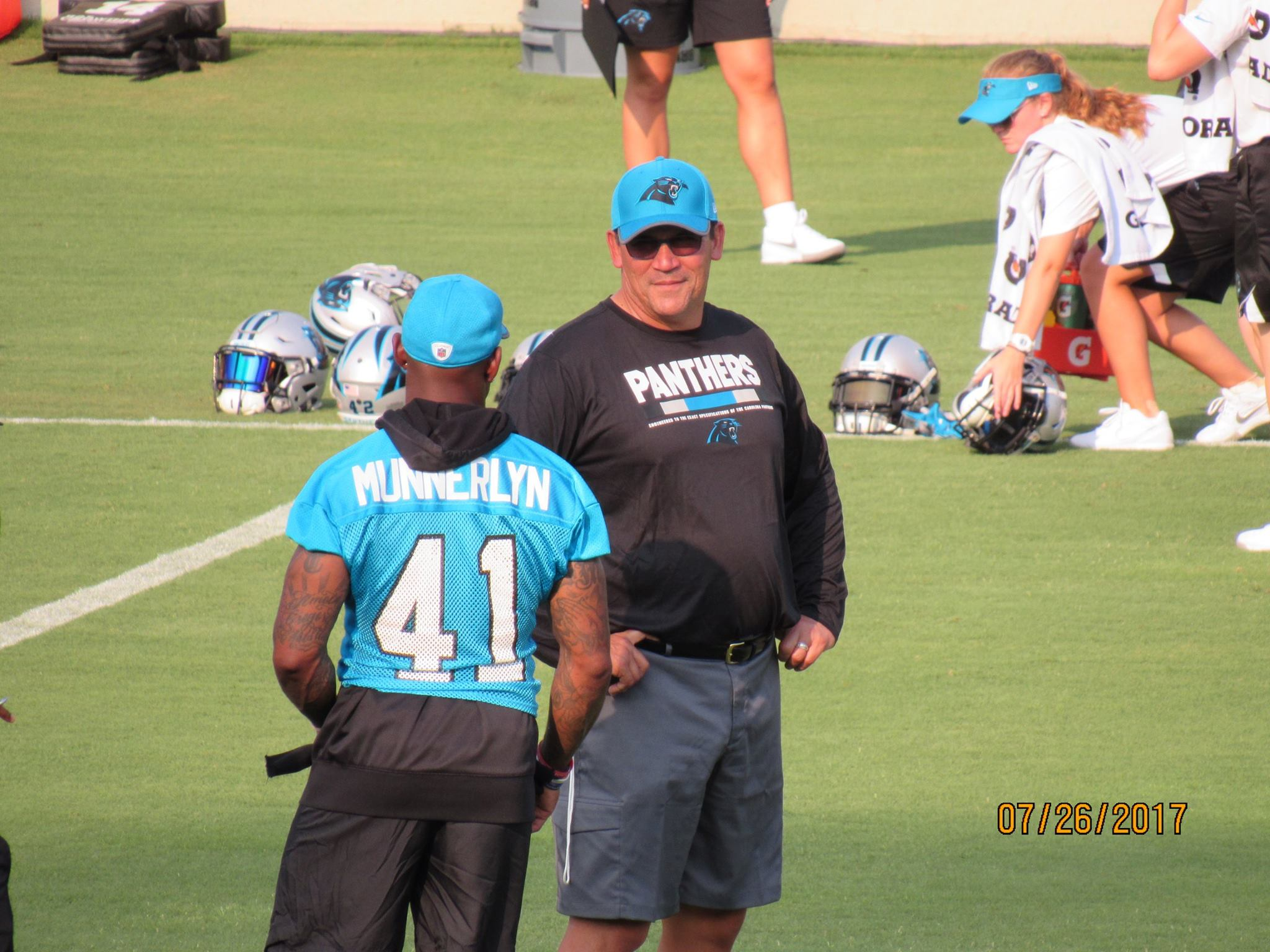Panthers practice 4