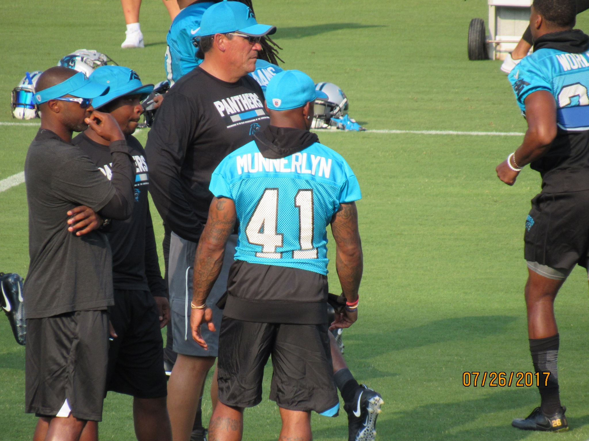 panthers practice 2