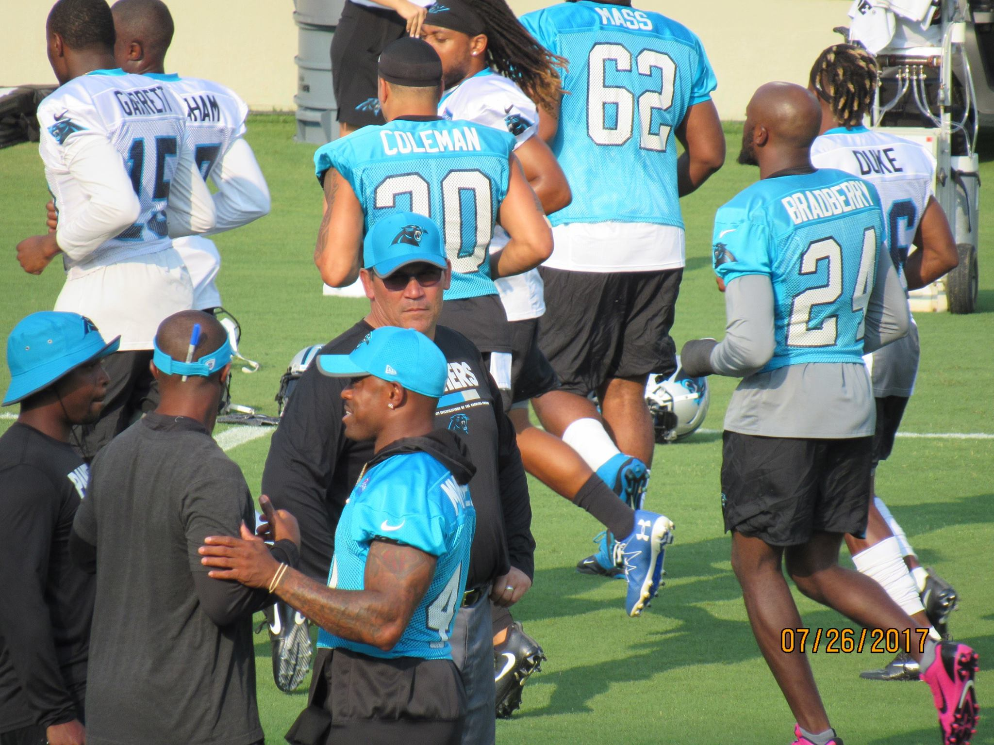 panthers practice 3