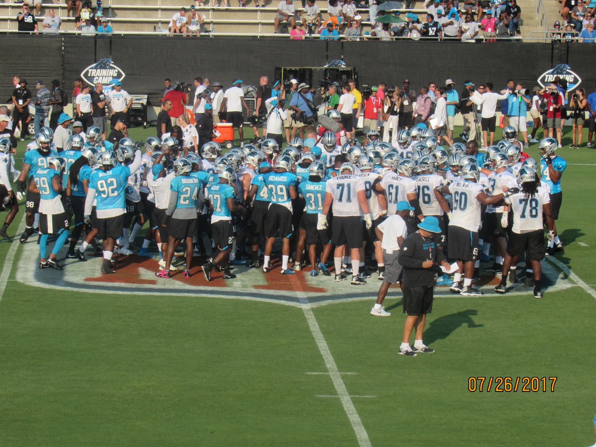 panthers practice 5