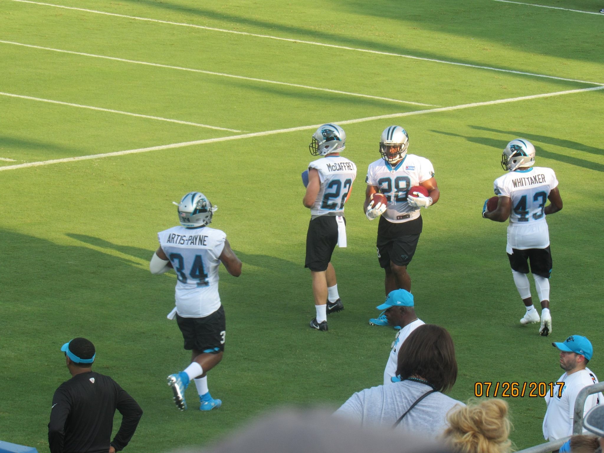 panthers practice 6